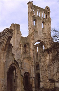 The Benedictine Abbaye de Jumièges ruin (2)