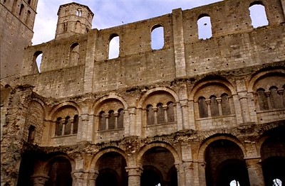 The Benedictine Abbaye de Jumièges ruin (3)