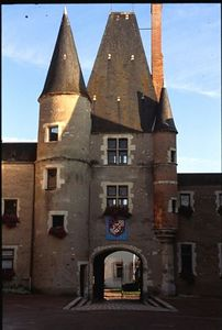 Château in Aubugne-sur-Nère; Stuart Château
