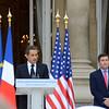 President Sarkozy and Ambassador Rivkin