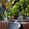 A table at La Terrasse Mirabeau