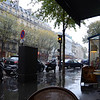 "Starbucks.   Paris.   In the rain.   Very peaceful (except when the awning dumped it's collection in a torrent, which is not in the video).   Watch the <a href=""http://www.themccains.ws/ExRef/France/DSC_0597.MOV"" target=""_blank"">Full HD video</a> (over 200 MB), or watch it on <a href=""http://youtu.be/RBeRC8BuiZo"" target=""_blank"">YouTube</a>.<br><br>Warning:   It really is just a video of rain.   If you watch it and you're bored, don't say I didn't warn you."