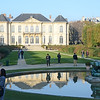 The garden and museum building at Musée Rodin