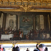 Large-format painting in the first room leading to the Grand Apartments