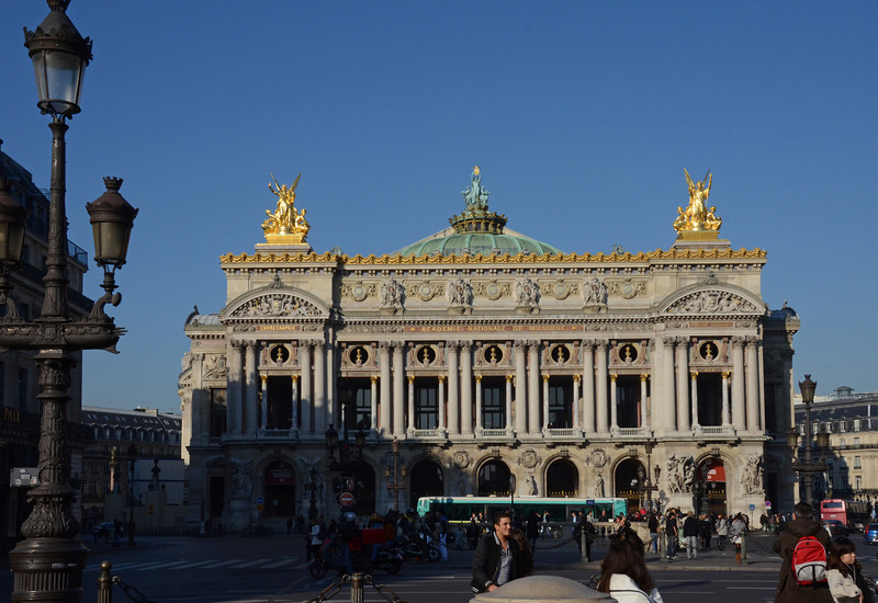 Paris Opera House.   Not related to Americans in Paris, but this is where public transportation dropped us off to get to Place Vendôme.
