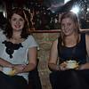 Becca and Joy eating pumpkin soup