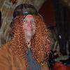 John Eaton as a Weasley quidditch player