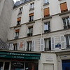 Where Hemingway first lived when he moved to Paris