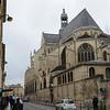 View of Église Saint-Étienne-du-Mont from Rue Clovis