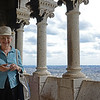 Mom in the dome of Sacré-Cœur