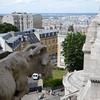 A gargoyle overlooks Montmartre and Paris