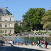 Luxembourg Palace and basin