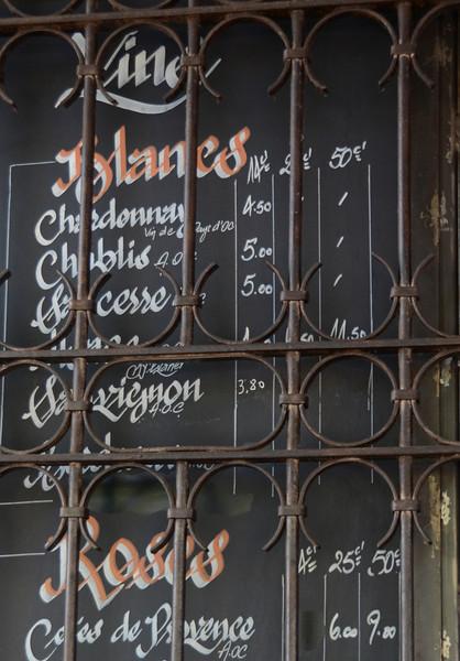 Wines at Le Jaurès Café