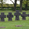 Crosses at La Cambe German Cemetery