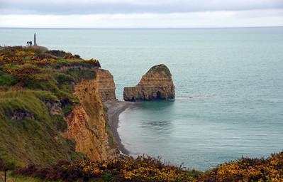 Pointe du Hoc (Father Normandy 2013)