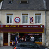 A D-Day store with an Airborne logo