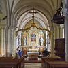Inside Église Notre-Dame-de-l'Assomption de Sainte-Mère-Église