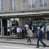 Airborne souvenir shop in Sainte-Mere-Eglise