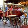 Le Petit Prince on a carousel at Trocadero