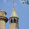 A spire at the corner of Blvd du Palais and Quai de l'Horloge