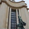 Statue and inscription at Trocadero