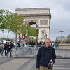 Ray at Arc de Triomphe