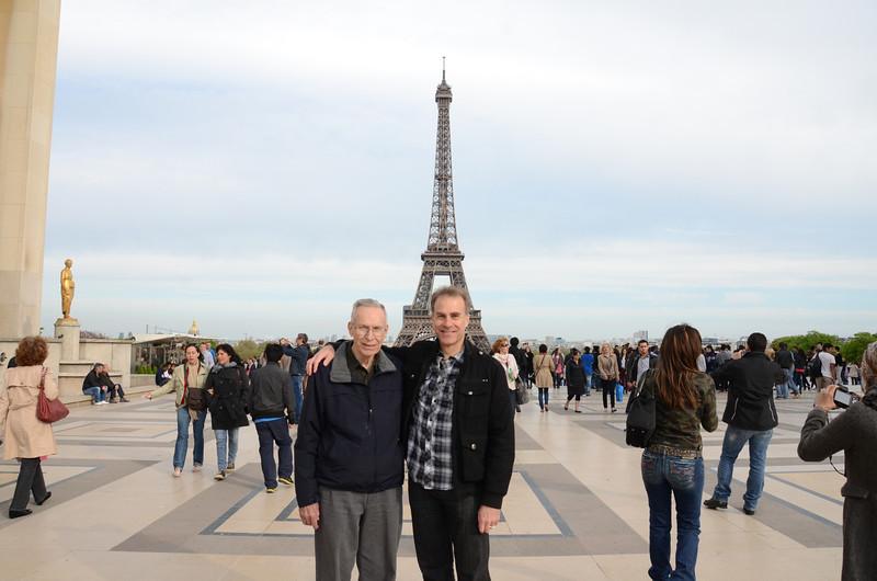 Ray and Steve at Trocadero (Photo by Deborah)