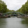 Foot bridges across the canal