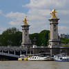 Pont Alexandre III, the most ornate bridge in Paris