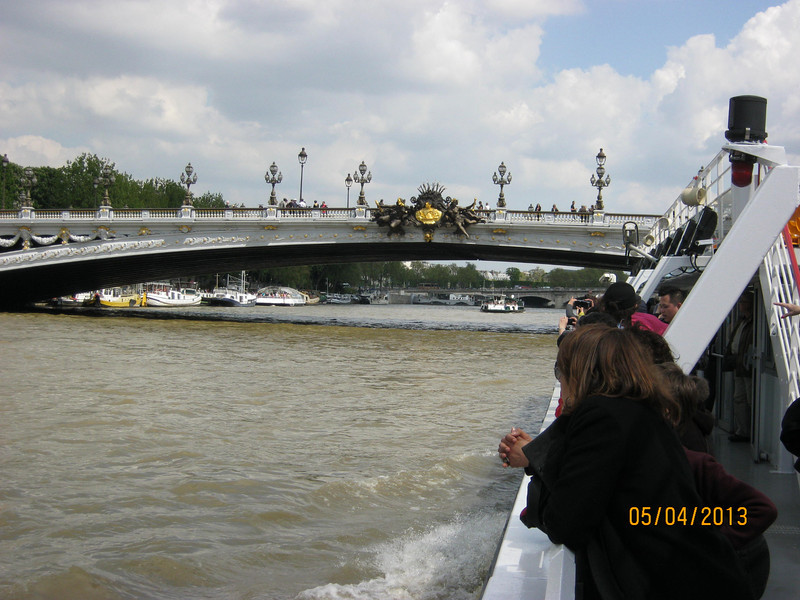 Pont Alexandre III (Photo by Ray)