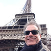 Steve at the Eiffel Tower