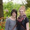Clara and Kat at Monet's Garden