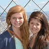Kat and Clara at the top of the Eiffel Tower