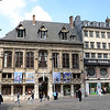 A building Deborah liked across from Rouen Cathedral