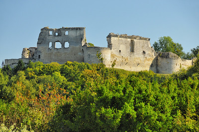 Coucy-le-Château - Le squelette du château