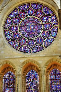 Laon - Cathédrale Notre-Dame - Rosace