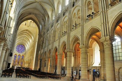 Laon - Cathédrale Notre-Dame - Nef