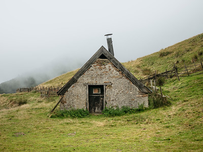 Sheepfold in the Pyrenees