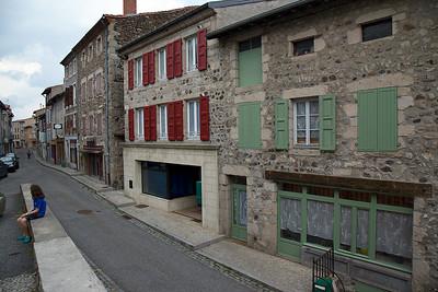 la maison Pierret (volets verts)