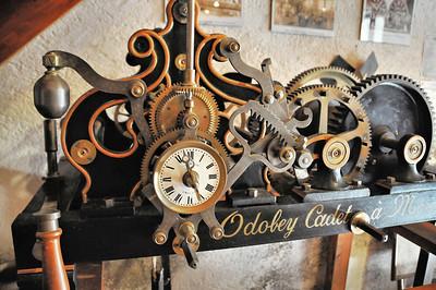 Charroux - Maison des Horloges - Horloge Odobey Cadet