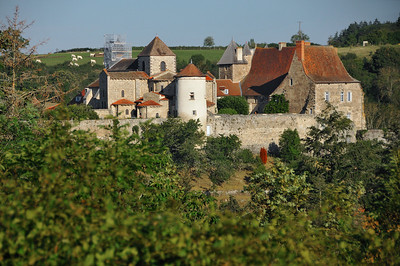 Chantelle - Abbaye Saint-Vincent