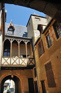 Moulins - Passage Moret - Hôtel Demoret