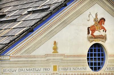 Saint-Dalmas-le-Selvage - Détail de l'église