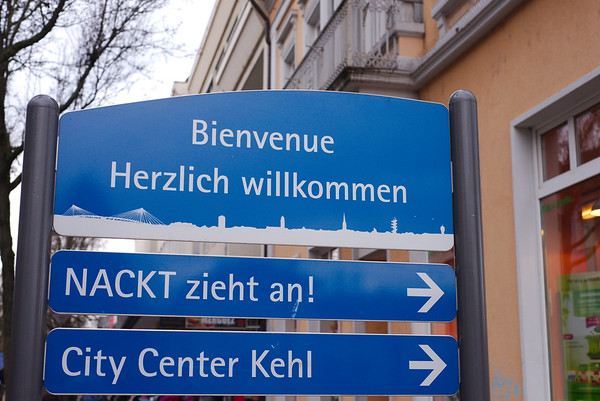 Welcome to Kehl, Germany
