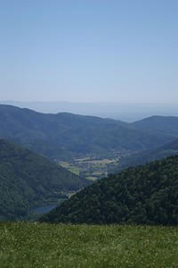 View of Thann Valley, from Le Ballon d'Alsace