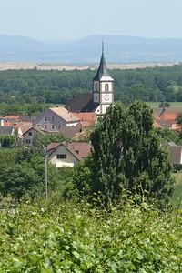 Village near Wuenheim (Berrwiller? Bollwiller? Hartmannswiller?)