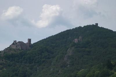 Ruins above Ribeauvillé
