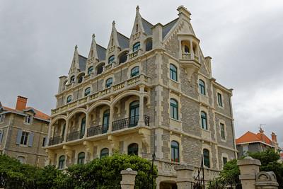 Biarritz, une villa