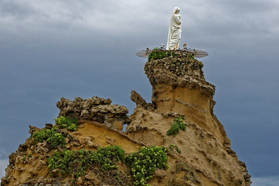 Biarritz, rocher de la Vierge