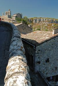Balazuc - Grand'Rue, église romane